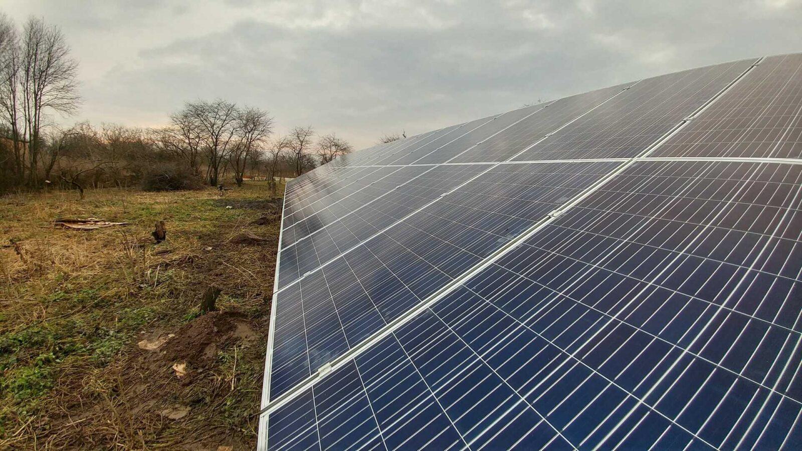 Картинки по запросу сонячна електростанція в Солобківцях