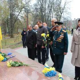 у Хмельницькому вшанували визволителів від нацистських загарбників