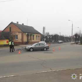 У ДТП на Хмельниччині травмувалась 59-річна велосипедистка