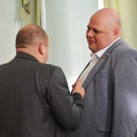 Нардеп Микола Стефанчук відповів на запитання журналістів