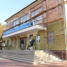 У Славуті триває капітальний ремонт міського центру мистецтв