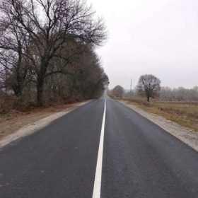 На Хмельниччині з'явилась ще одна відремонтована ділянка автодороги