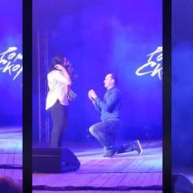 Пропозиція руки і серця на концерті Скорпіона