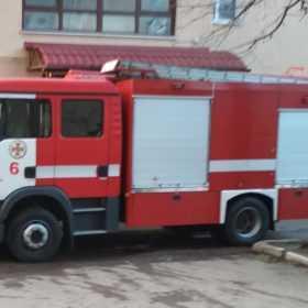 Загорівся гуртожиток КПНУ імені Огієнка
