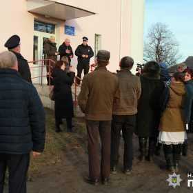 На Хмельниччині відкрили першу поліцейську станцію для офіцера громади
