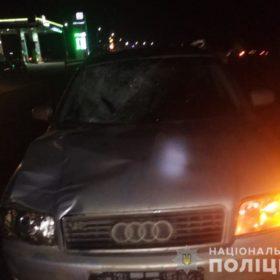 Біля Хмельницького під колеса «Audi A6» потрапив пішохід