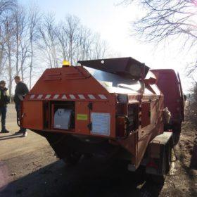 На Хмельниччині ремонтують дороги за допомогою мобільного асфальтобетонного заводу