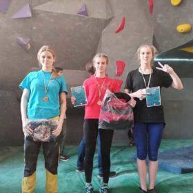 Нетішинці завоювали два перших місця на Всеукраїнських змаганнях зі скелелазіння