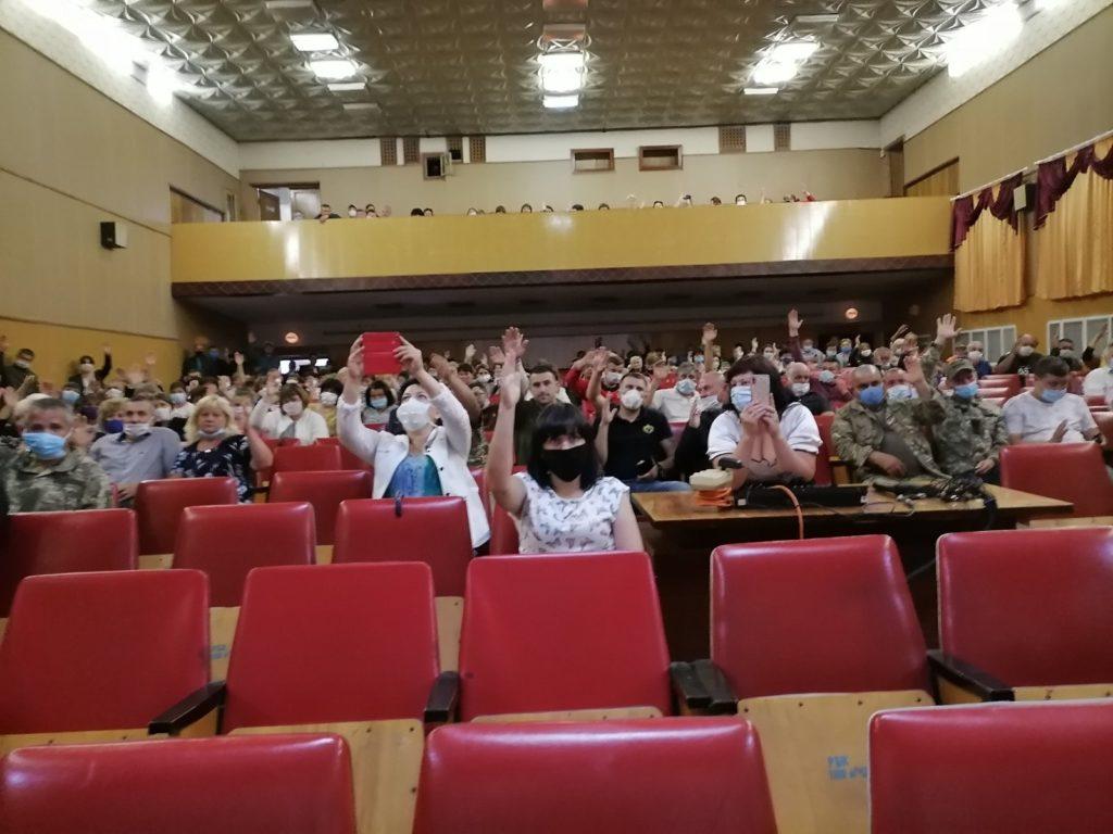 У Чемерівцях відбулося віче за приєднання до Кам'янець-Подільського району