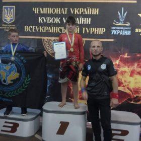 чемпіон України з панкратіону