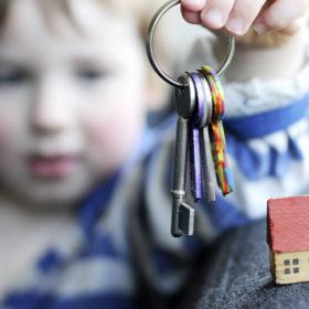 діти з ключами