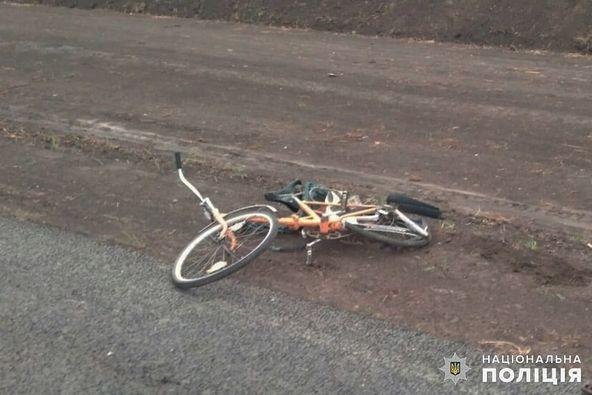 велосипедистка загинула у ДТП