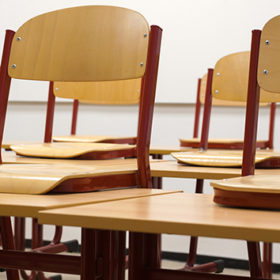 школа, класс, стулья