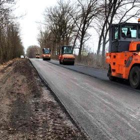 Ремонт дороги на Волочиськ