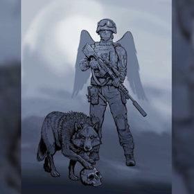 мурал у пам'ять воїнів ССО