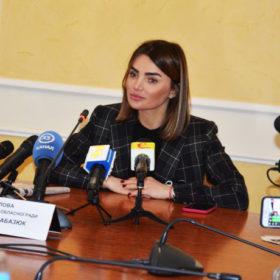 Віолета Лабазюк, голова обласної ради
