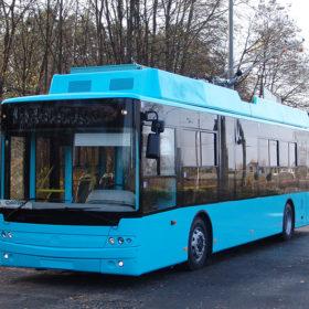 новий тролейбус Богдан