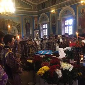Прощання з митрополитом Антонієм