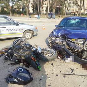 В поліції повідомили подробиці ДТП у Славуті за участі мотоцикла