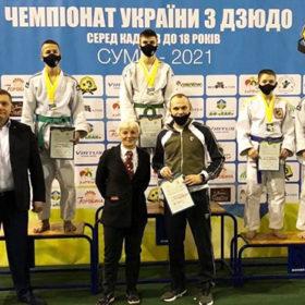 Хмельничанин виборов золоту медаль на Чемпіонаті України з дзюдо