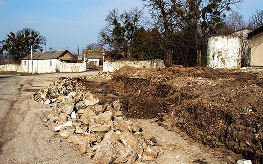 На Хмельниччині знайшли фрагменти костелу XVII століття
