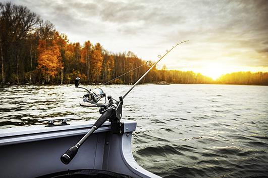 в нерестовий період ловити рибу у дозволених місцях можна з берега однією вудкою з одним гачком чи спінінгом.