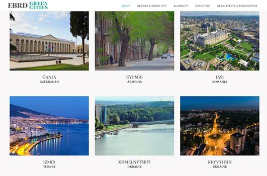 Хмельницький став четвертим українським та тридцять другим у світі учасником програми «Зелені міста».
