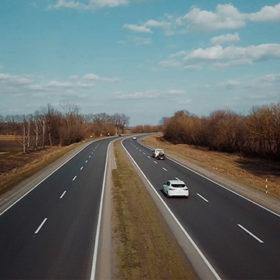 Дорога М-12 після ремонту