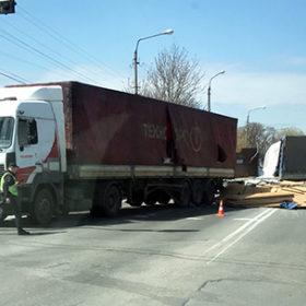 ДТП дві вантажівки