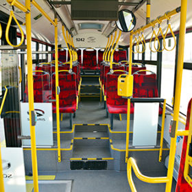 інтер'єр автобуса