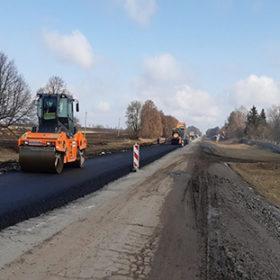 На Хмельниччині триває ремонт доріг територіального та державного значення