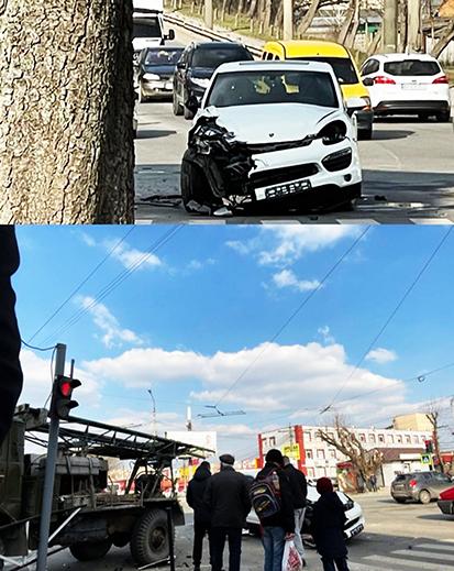 У соцмережах показали фото наслідків дорожньо-транспортної пригоди, яка днями сталася у Хмельницькому.