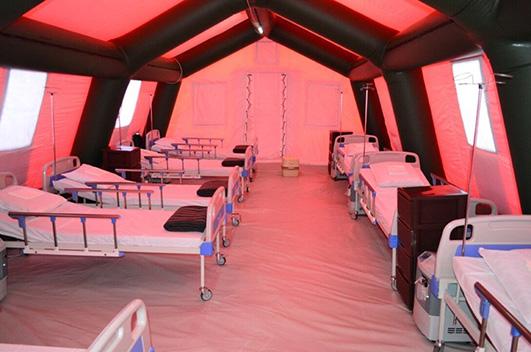 Для одночасного лікування 120 пацієнтів знадобиться 6 медичних бригад.