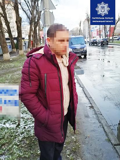 Нетверезого водія з сумнівним посвідченням зупинили у Хмельницькому