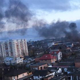 пожежа Хмельницький