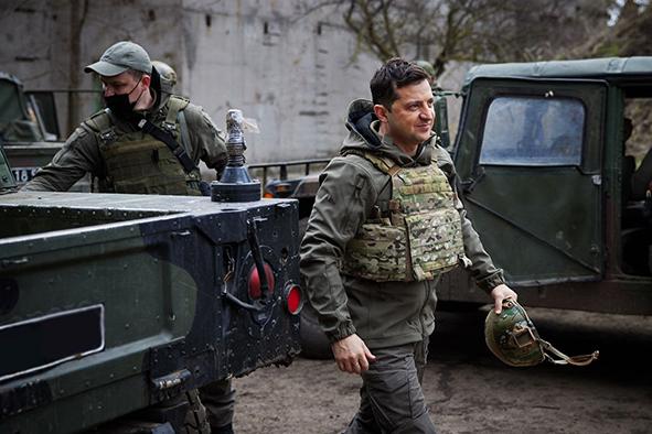 Президент на Донбасі