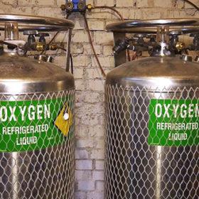 На Хмельниччині збільшують поставки рідкого кисню