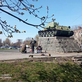 Сквер танкістів