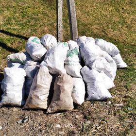 УКам'янці зібрали 60 мішків сміття