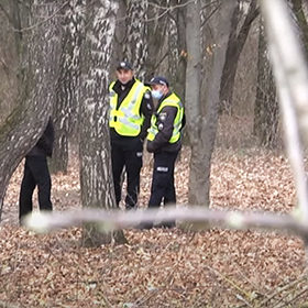 поліція в лісосмузі