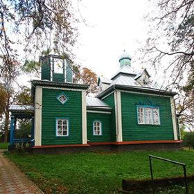 Храм Різдва Божої Матері у селі Баговиця