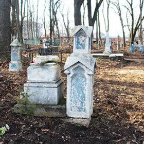 старий цвинтар у Хмельницькому