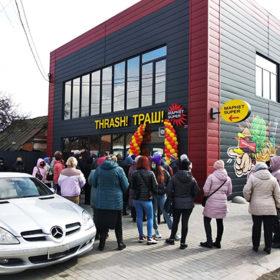 Відкриття магазину у Полонному в локдаун