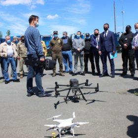 дрон і люди