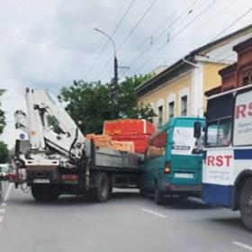 ДТП маршрутка та вантажівка