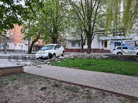 ДТП біля скверу Шевченка