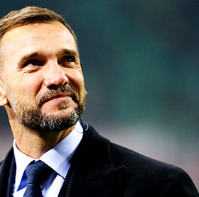 STADIO GIUSEPPE MEAZZA, MILANO, ITALY - 2019/01/26: Andriy Shevchenko former player of Ac Milan , looks on before the Serie A football match between AC Milan and Ssc Napoli.