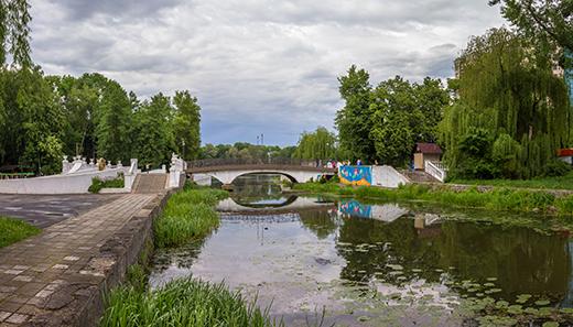 У парку Хмельницького за майже 900 тисяч почистять водойми