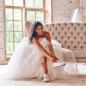 невеста в кедах