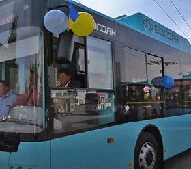 тролейбус з кульками